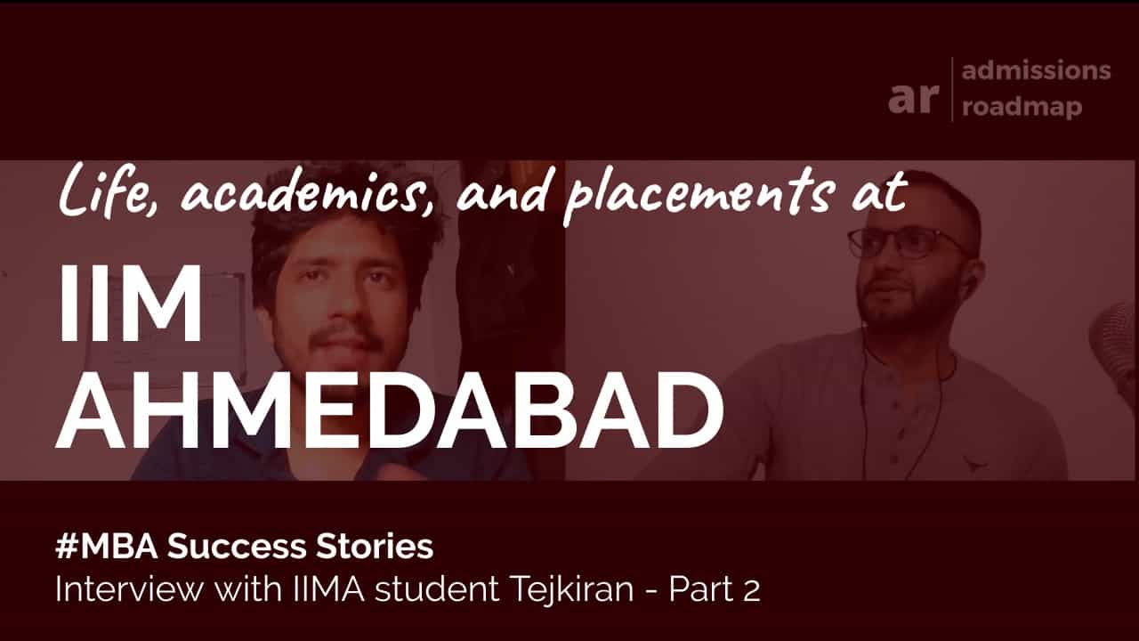 IIM Ahmedabad MBA student placements
