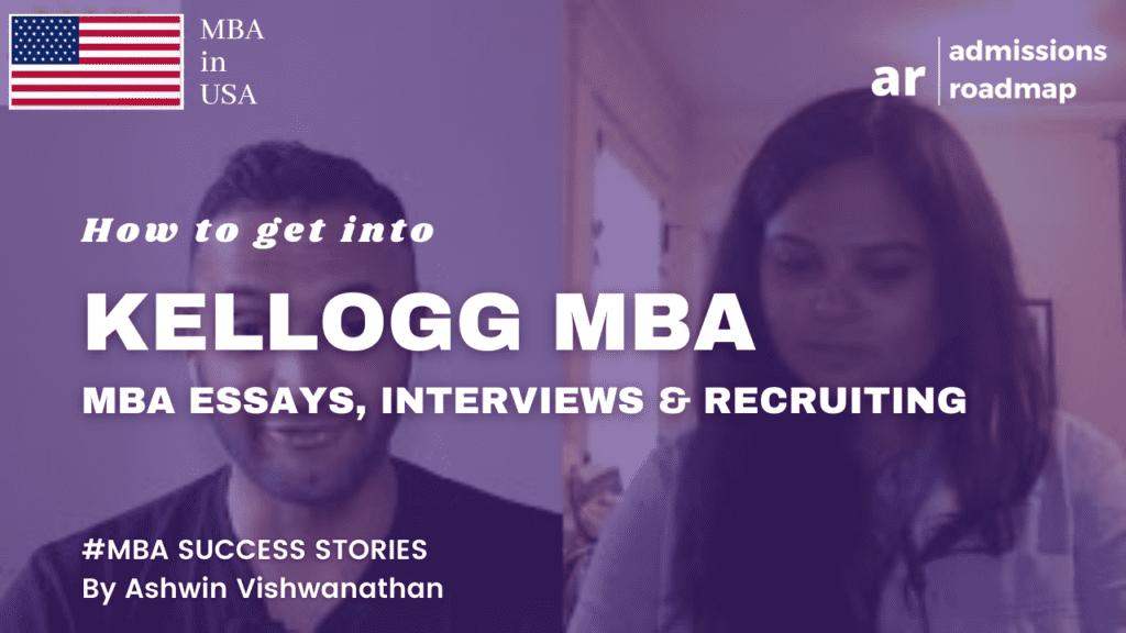 Kellogg MBA Applications