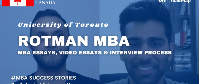Rotman MBA Essays
