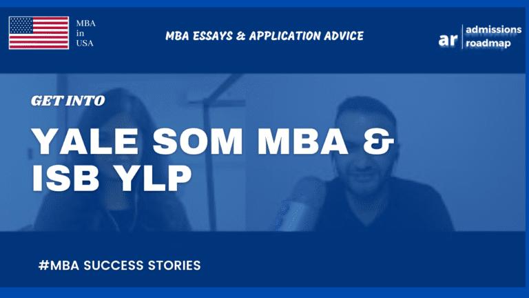 Yale SOM & ISB